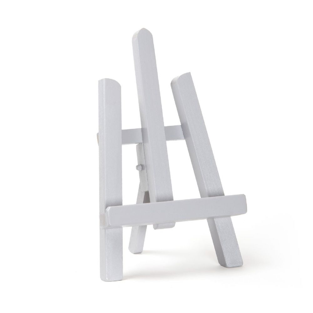 "Grey Colour Easel Essex 11"" - Beech Wood"